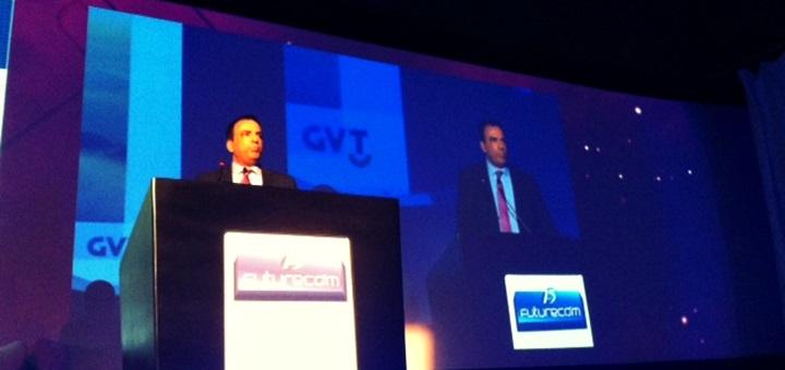 Amos Genish, presidente da GVT. Imagem: Camila De' Carli, TeleSemana.com / Amos Genish, presidente de GVT. Imagen: Camila De' Carli, TeleSemana.com.