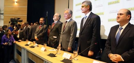 Andre Figueredo en la toma de posesión como Ministro de Comunicaciones. Imagen: Ministerio de Comunicaciones