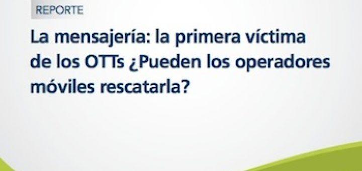 Los OTTs secuestran los servicios de mensajería ¿pueden los operadores móviles rescatarlos?