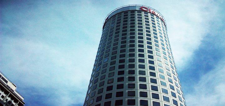 Edificio de Claro en Argentina. Imagen: Lucas Ledesma/TeleSemana.com.