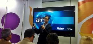 Jay Sullivan, responsable del proyecto Firefox OS. Imagen: Camila De' Carli, TeleSemana.com.