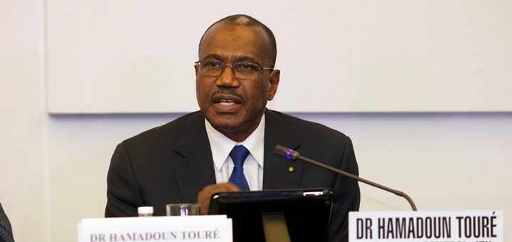 Hamadoun Touré, secretario general de la UIT. Imagen: UIT.