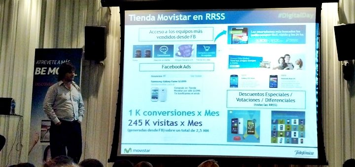 Gustavo Papasergio, social media y web manager para Telefónica y Movistar Argentina