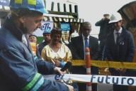 Saúl Kattan Cohen, presidente de ETB durante el lanzamiento del despliegue de fibra óptica en Bogotá. Imagen: ETB