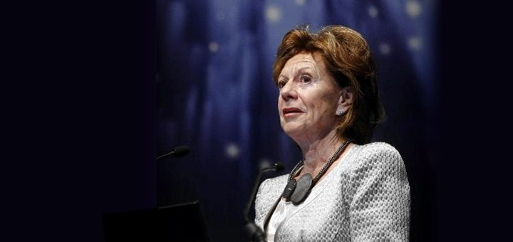 Vicepresidente de la Comisión Europea y responsable de Agenda Digital. Imagen: Comisión Europea.