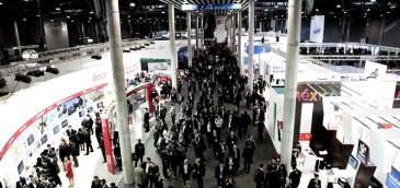 Panorama del Mobile World Congress 2014. Imagen: GSMA.