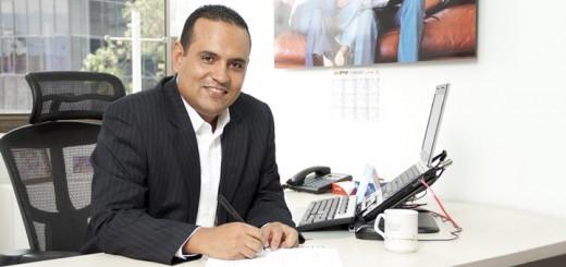 Diego Mauricio Serna, director de telefonía pública de Une EPM. Imagen: Une EPM.