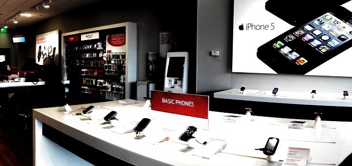 Tienda de Verizon Wireless en Connecticut. Imagen: WestportWiki/Wikimedia Commons.