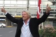 Richard Branson en Chile. Imagen: Virgin Mobile