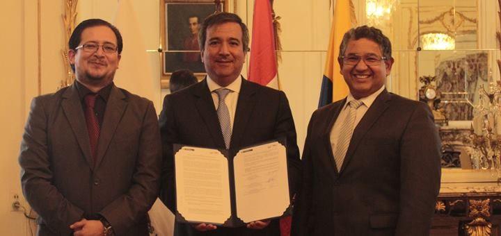 Ecuador y Perú presentaron acciones para fomentar las TIC en zonas de frontera. Imagen: Ministerio de Telecomunicaciones de Ecuador