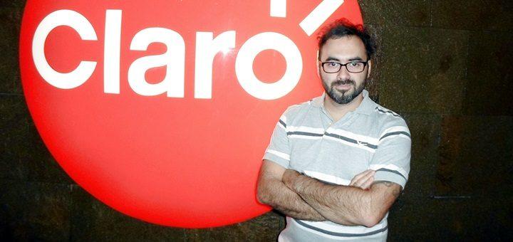 Martín Aramburu, Product Manager de Servicios de Valor Agregado. Imagen: Claro.