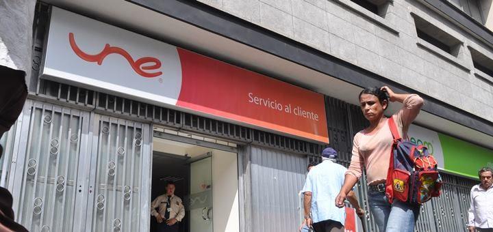 Oficina de Atención al Cliente Une- Edificio Miguel de Aguinaga. Imagen: Une