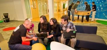 Oficinas de Google en Dublin. Imagen: Google