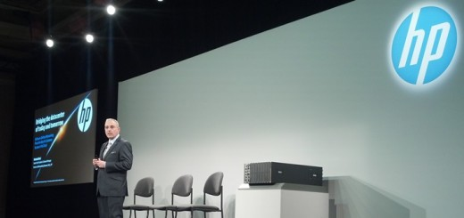 Antonio Neri, vicepresidente senior y gerente general de Networking de HP, durante el HP Discover 2014. Imagen: Lucas Ledesma/TeleSemana.com.