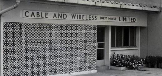 Estación de Transmisión en Port More (1960). Imagen: Cable & Wireless