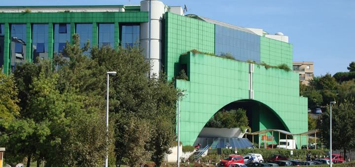 Edificio de Telecom Italia en Ancona. Imagen: Telecom Italia