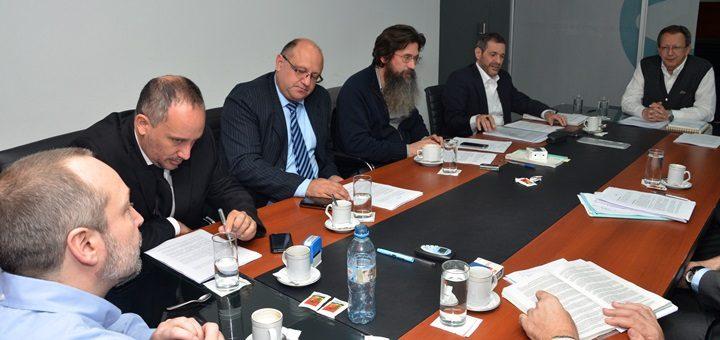 Autoridades de Afsca se reúnen en el marco de la aprobación de la norma para la transición de la TV analógia a DTH