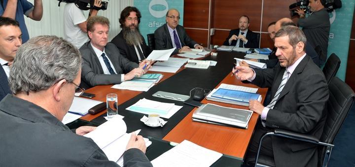 Reunión de directorio de Afsca. Imagen: Afsca.