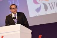 El Subsecretario de Comunicaciones, José Ignacio Peralta Sánchez, durante el acto de inauguración del WCIT. Imagen: SCT