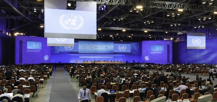 Conferencia de Plenipotenciarios de la UIT. Imagen: UIT