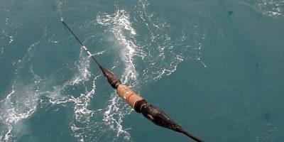 Tendido de cable submarino. Imagen: NEC