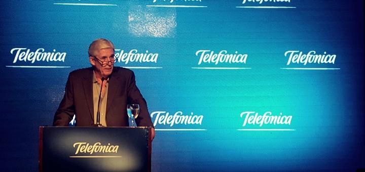 José Luis Rodríguez Zarco, director de Relaciones Institucionales de Telefónica. Imagen: Leticia Pautasio/ TeleSemana.com