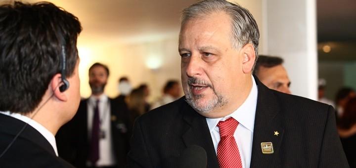 Ricardo Berzoini, nuevo ministro de Comunicaciones de Brasil. Imagen: Antônio Augusto / Câmara dos Deputados