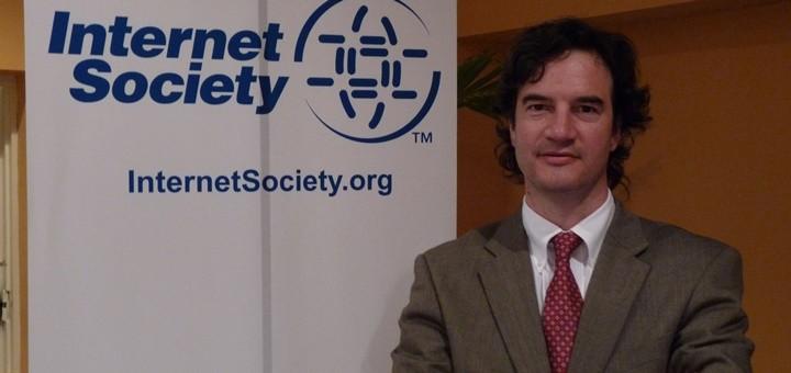 Christian O Flaherty, Regional Development Manager de Internet Society. Imagen: ISOC