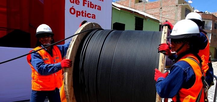 Perú inaugurará el tramo cusqueño de la Red Dorsal Nacional de Fibra Óptica