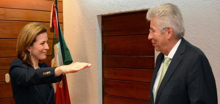 Mónica Aspe Bernal es la nueva subsecretaria de Comunicaciones de México