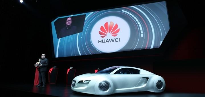 Huawei presentó una solución LTE para vehículos Audi
