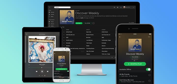 Spotify inicia esta semana el despliegue de contenidos de video