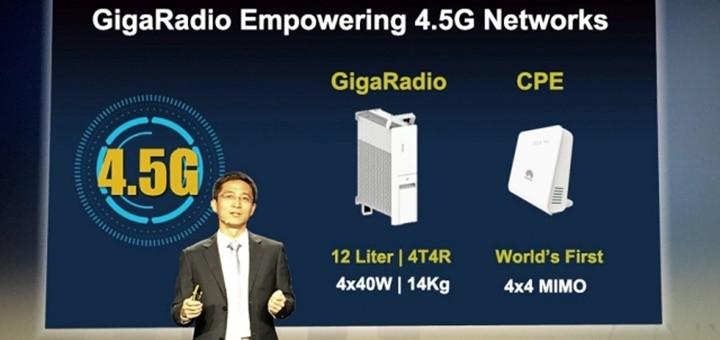 Bob Cai, Head of Huawei LTE Domain, Imagen: Huawei