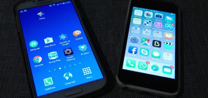 Evolución trimestral de la participación de mercado de los sistemas operativos móviles a nivel global