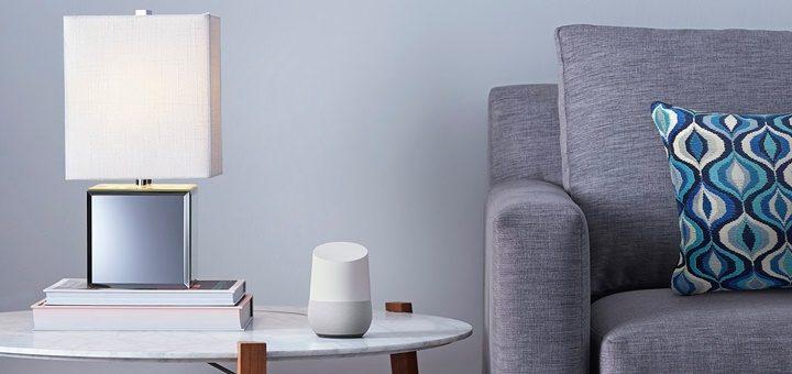 Google Home. Imagen: Google