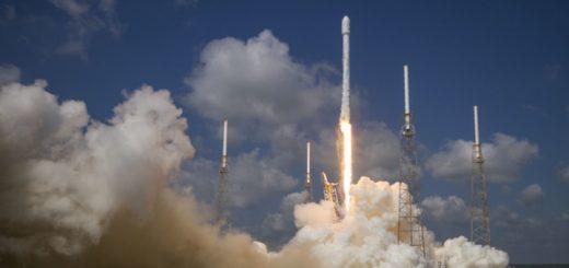 Lanzamiento del satélite Eutelsat 117 West B. Imagen: SpaceX