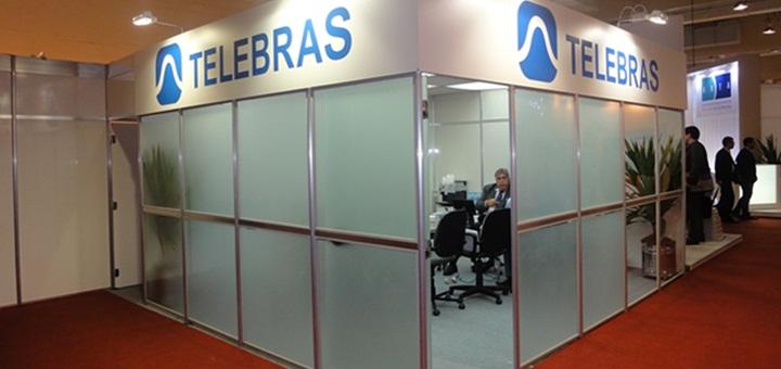Stand de Telebras en ABTA. Imagen: Telebras.