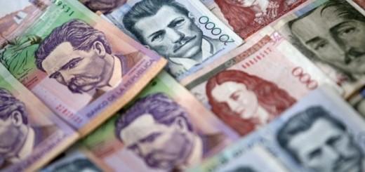 Pesos colombianos. Imagen: Instituto de Desarrollo Urbano de Colombia.