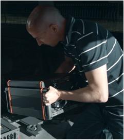 Instalación de la solución de benchmarking Nemo Invex II en un auto