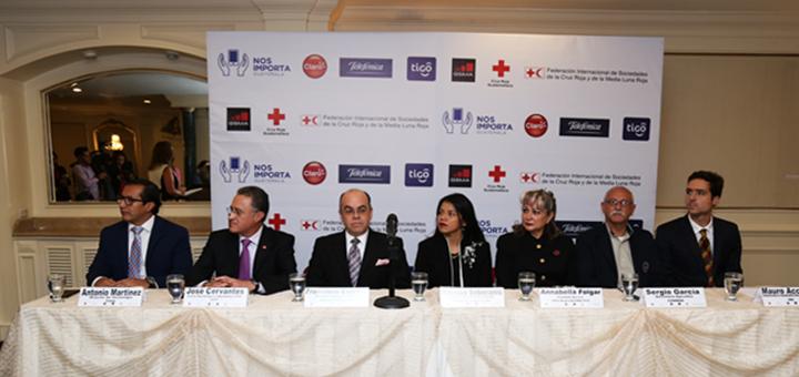 Guatemala: Claro, Movistar y Tigo asistirán a la Cruz Roja frente a desastres naturales