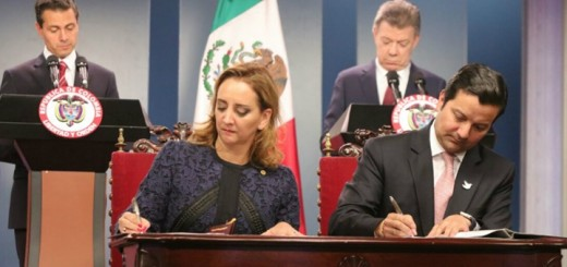 Memorandum de entendimiento entre México y Colombia. Imagen: Mintic.