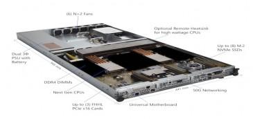 Microsoft anuncia Project Olympus; podría cambiar la forma de diseñar hardware para el sector de las telecomunicaciones