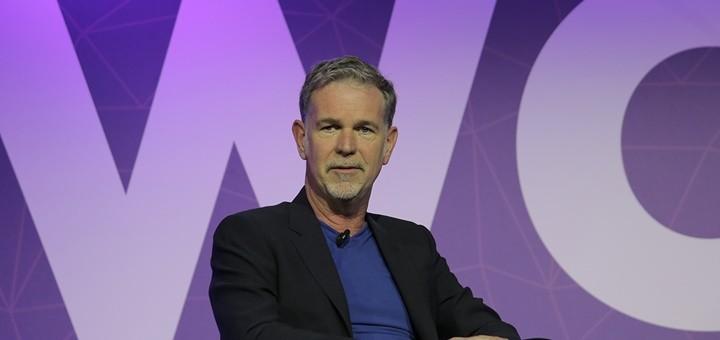 Reed Hastings, CEO de Netflix. Imagen: GSMA