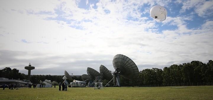 Las pruebas se realizaron en la Estación Terrena de Balcarce. Imagen: Movistar.