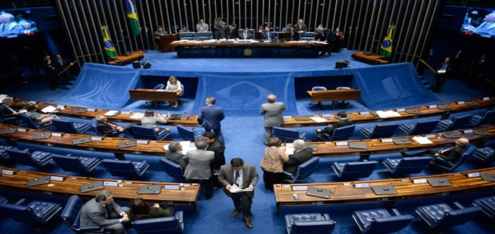 Plenario del Senado brasileño aprobó acuerdo con Perú. Imagen: Senado de Brasil.