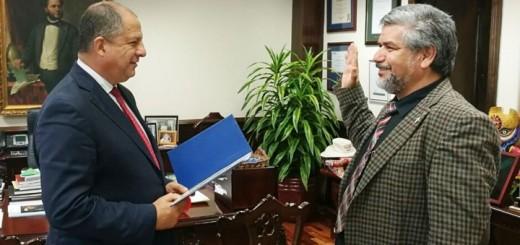 Pacheco asume el puesto de Viceministro de Ciencia y Tecnología de Costa Rica. Imagen: Micitt.