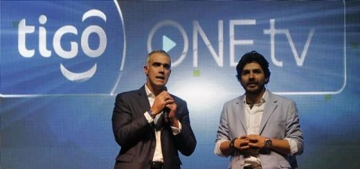 Presentación de Tigo OneTV. Imagen: Tigo Une