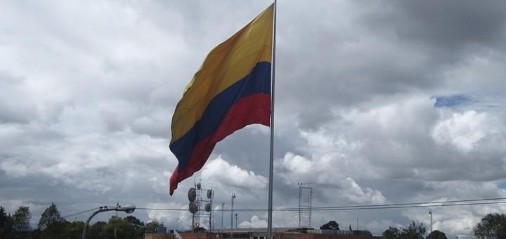Bandera de Colombia. Imagen: Julián Ortega Martínez/Flickr