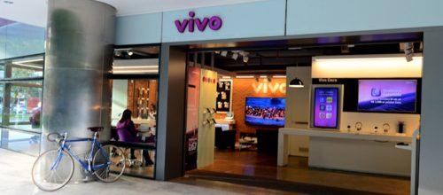 Tienda de Vivo en San Pablo. Imagen: Vivo.
