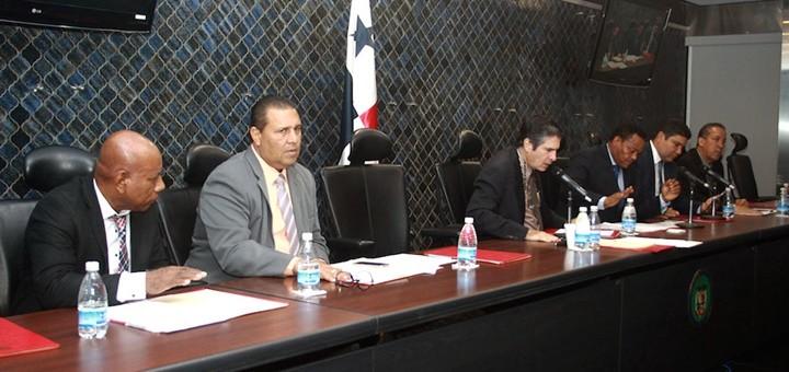Comisión de Comunicaciones y Transporte de la Asamblea Nacional de Panamá. Imagen: Asamblea Nacional